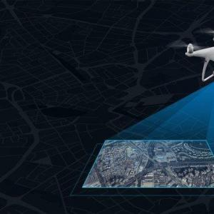 Levantamentos topográficos com drone